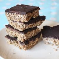 Chocolate Peanut-Butter No-Bake Squares