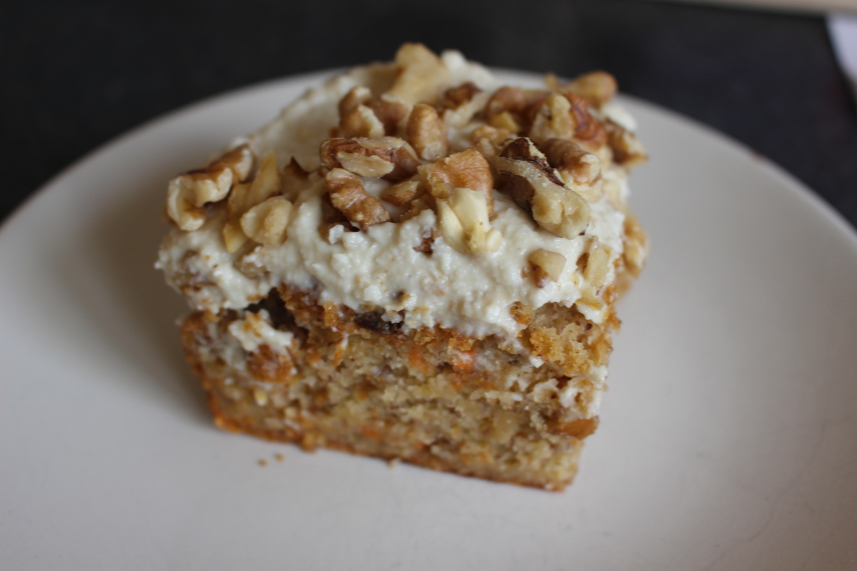 Vegan and Gluten-Free Carrot Cake